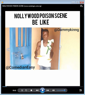 thumb [DOWNLOAD COMEDY] Nollywood Poison Scene - A MUST WATCH!!