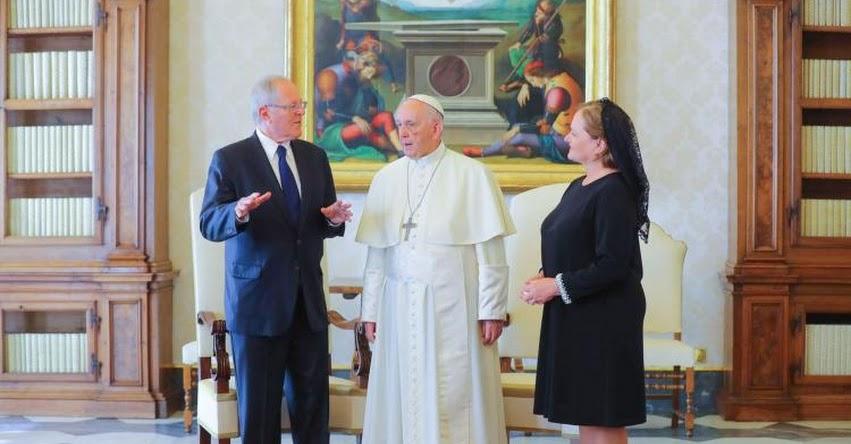 PAPA FRANCISCO EN PERÚ: Pontífice llegará al Perú el 17 de enero desde Chile, anuncia presidente Kuczynski