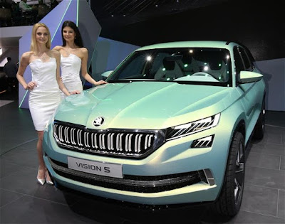 coming 2017 Skoda Kodiaq SUV realese time Hd Pictures