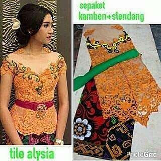 Kebaya Set Tile Alysa