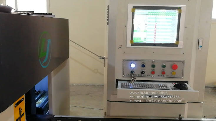 NC.40Z-1200 - CNC Busbar Bending Machine
