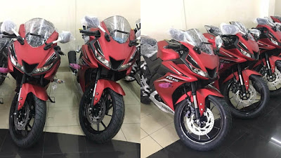 New 2017 Yamaha R15 V3.0 in show room