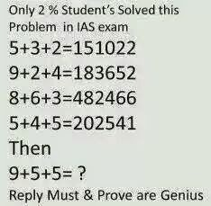 Only 2% Student's Solved this in IAS exam