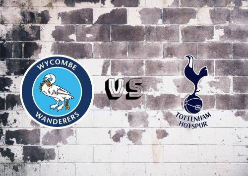 Wycombe Wanderers vs Tottenham Hotspur  Resumen y Partido Completo