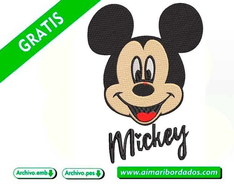 Mickey Mouse para bordar a máquina