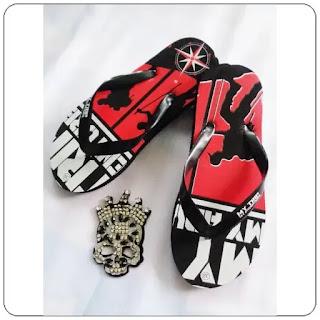 Sandal Jepit Sablon Timbul Pria