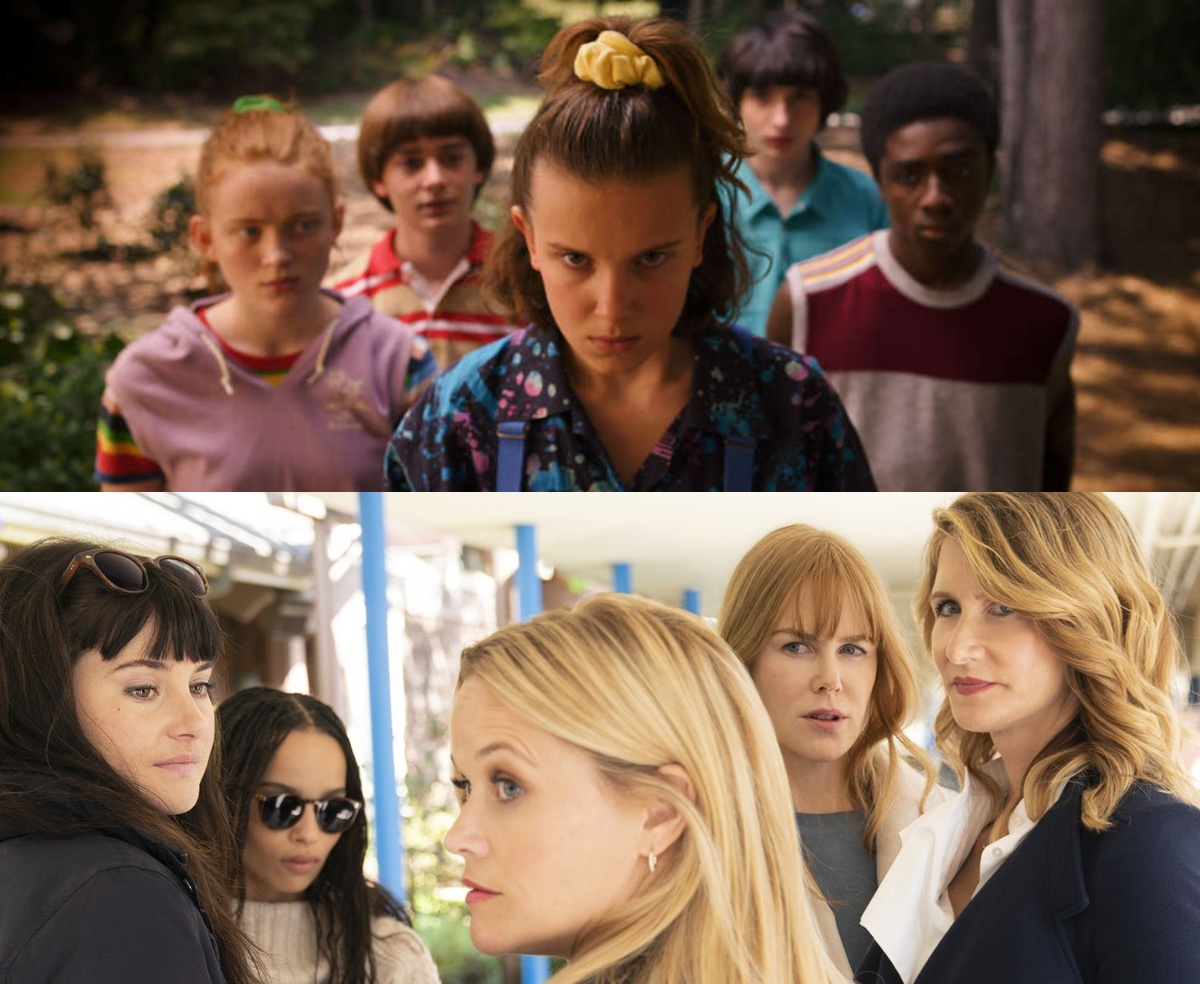 Stranger Things, sezon 3, Netflix, serial, Big Little Lies, Wielkie kłamstewka, HBO, sezon 2, recenzja, seriale, najlepsze seriale, najgorsze seriale, lipiec 2019