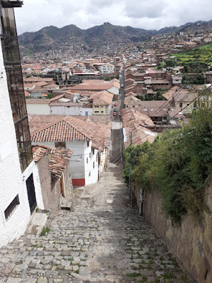 Barrio en Cusco