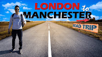 Road Trip in UK | London to Manchester via Birmingham | Europe Trip EP-8