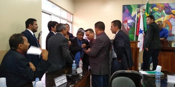 ACONTECEU  A ELEIÇÃO PARA NOVA MESA DIRETORA DA CÂMARA MUNICIPAL DE ITAITUBA, A SESSÃO FOI MUITO POLÊMICA.