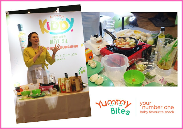 product launching evoo yummy bites