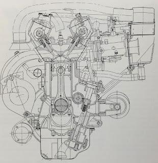 Motore Fiat Ritmo Abarth 130 TC - Motori italiani che hanno fatto scuola
