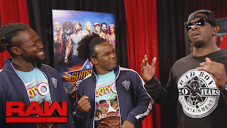 Puff Daddy WWE RAW NEW DAY 2K17