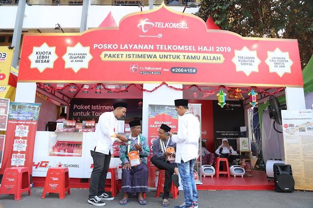 Telkomsel Menyiapkan Pelayanan Posko Siaga Haji dan Paket Promo Haji.