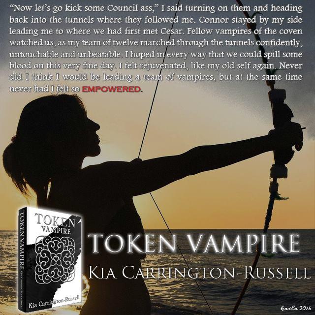 Fangtastic Books Token Huntress By Kia Carrington Russell