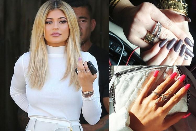 La Universidad de las Uñas en ACRÍLICO y GEL: Kylie Jenner saca las ...