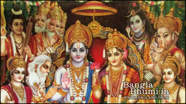 Lord Ram , Mata Sita Indian God 1366x768 Wide Wallpaper