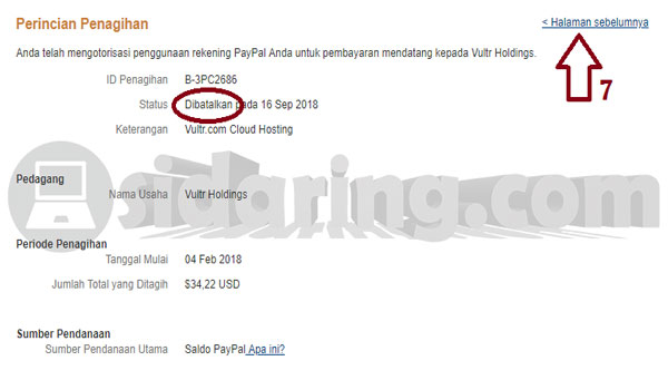 Cara Cancel Billing Agreement Pada Paypal