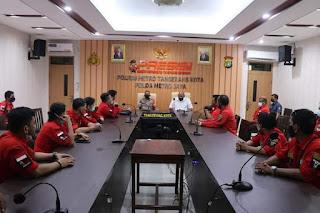 Polres Metro Tangerang Kota Minta Pemuda Batak Bersatu Jadi Benteng Perdamaian