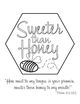 Look to Him and be Radiant: Sweeter Than Honey Theme Resources