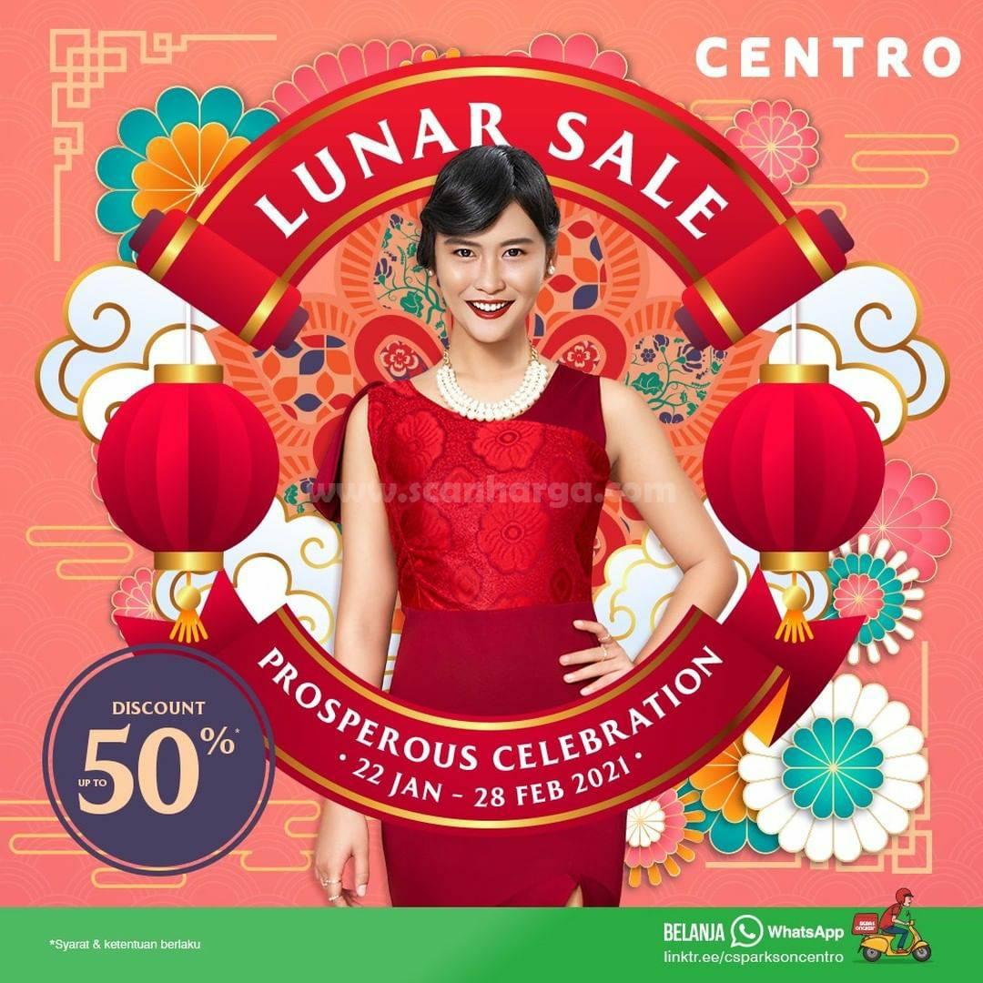 CENTRO Depstore Promo LUNAR SALE – Disc. up to 50% off