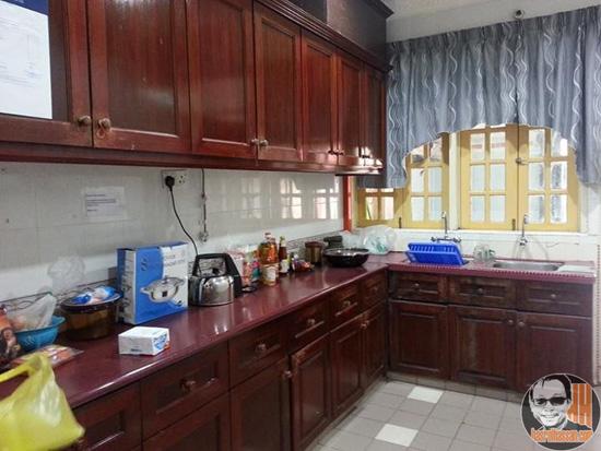 Ruang dapur Rumah Peranginan Persekutuan Bukit Fraser