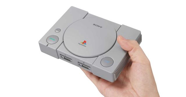 Sony anuncia mini consola PlayStation Classic