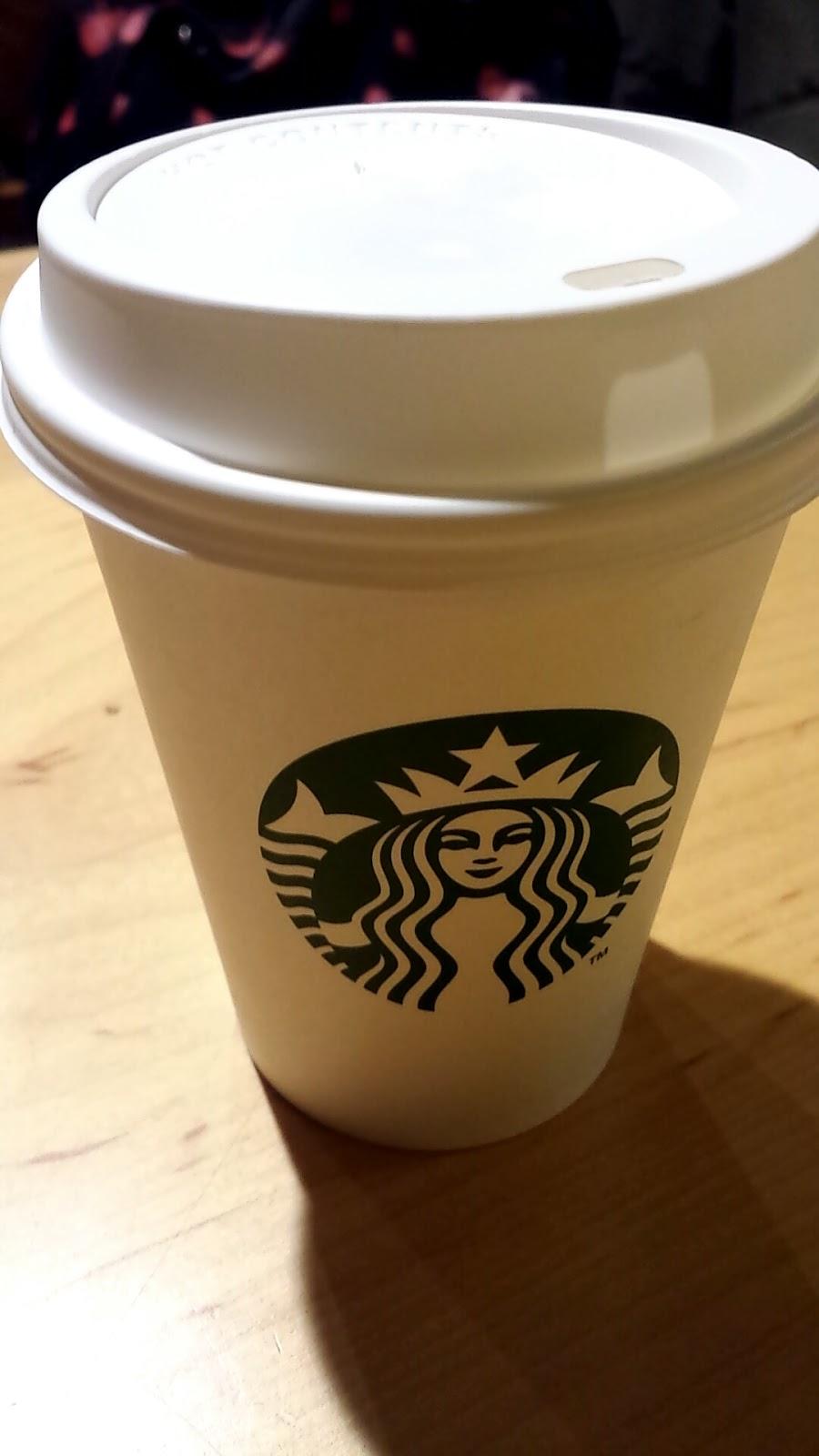 Anna, Look!: Review: Starbucks Fudge Hot Chocolate