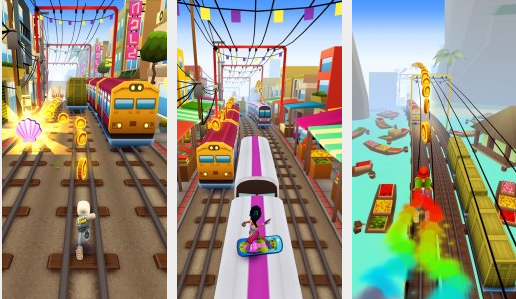 Subway Surfers mod game