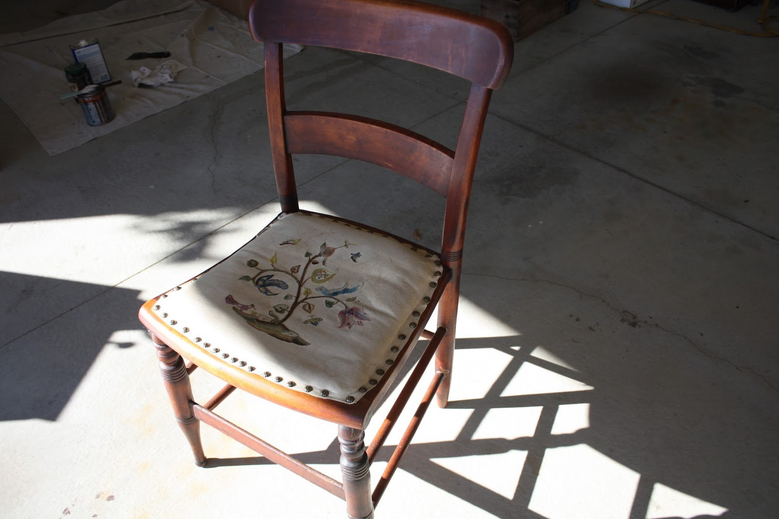 String Chair Seat Guitar Chairs And Stools Vintage With A Rope Support