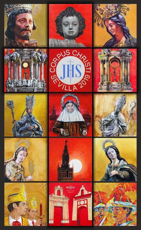 Cartel del Corpus Christi 2019 de Sevilla