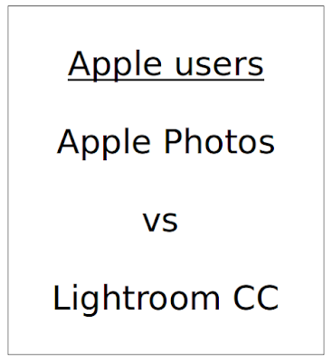 Adobe Lightroom CC vs Apple Photos