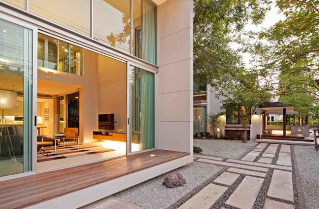 Casa minimalista en tailandia for Casa minimalista blog