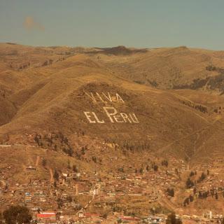 Cusco Vista do Sítio Arqueológico de Qenko