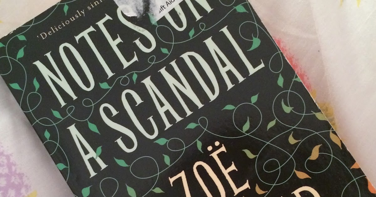 Notes On A Scandal Book