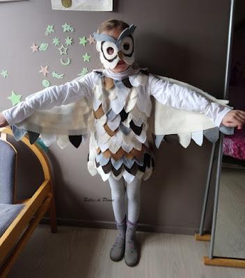 DIY Costume hibou / chouette