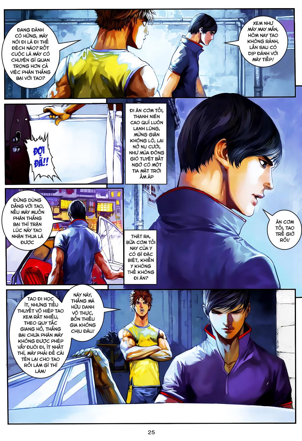 Quyền Đạo chapter 4 trang 25