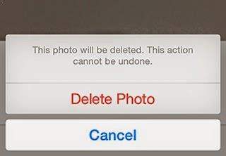 delete photos permanently from your iPhone