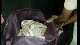MLA का टिकट लेने 74 लाख रुपए लेकर आया था कारोबारी, पुलिस ने ड्राइवर समेत 2 को पकड़ा