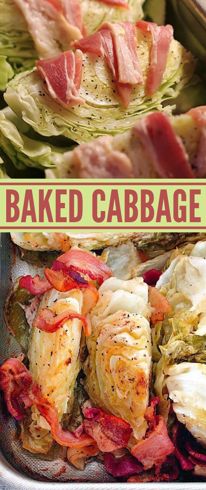 BAKED CABBAGE #vegetarian #healthy