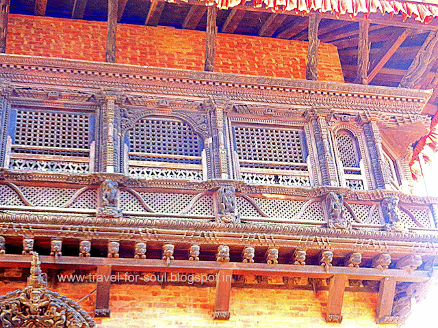 Architecture at Taleju Temple, Bhaktapur