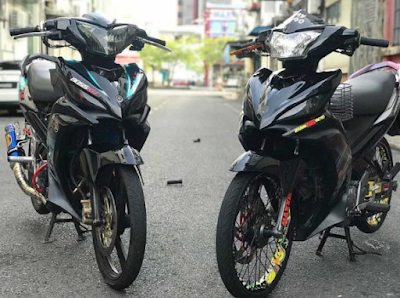 Modifikasi Velg Jari-jari Jupiter MX