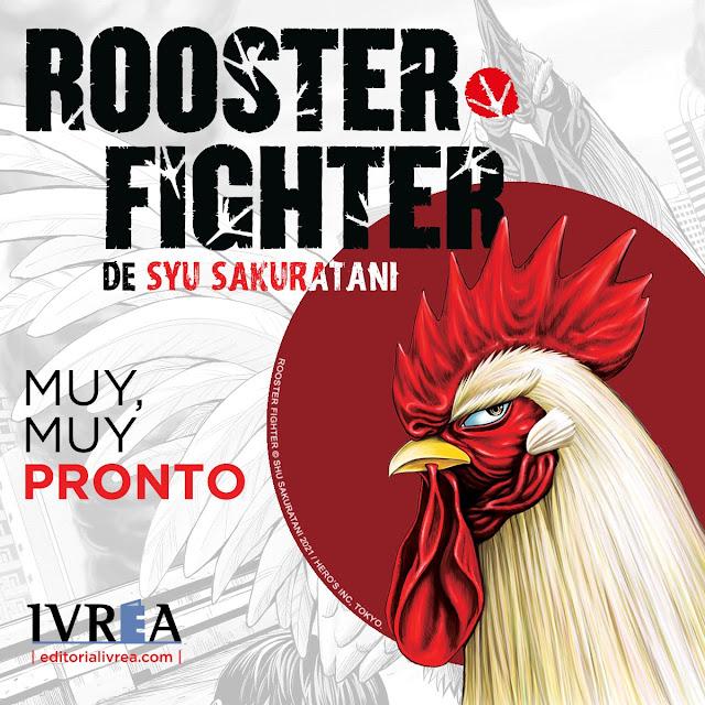 Rooster Fighter de Shū Sakuratani licecniado por Ivrea.