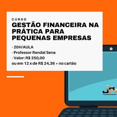 Curso Online de Gestão Financeira na Prática para pequenas empresas - EAD