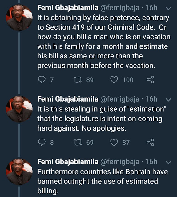 Femi Gbajabiamila comes hard for electricity distribution companies as he accuses them of fraud and corruption in their billing methods