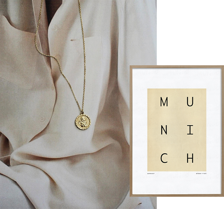 Munich Minimalist City Poster, Modern Travel Poster, Morocco Printable, Typography City Art, Travel Gift, Minimalist Wall Decor - Studio Paradissi