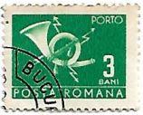 Selo Post Horn, 3 Bani