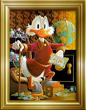 11cdc99221 1 Δεκεμβρίου 1947  Ο Σκρουτζ Μακ Ντακ εμφανίζεται για πρώτη φορά σε κόμι  στριπ. Είναι δημιουργημα του Καρλ Μπαρκς.