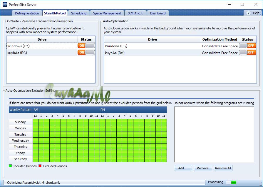 Raxco PerfectDisk Professional Business / Server