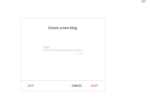Cara membuat blog gratis yang menarik